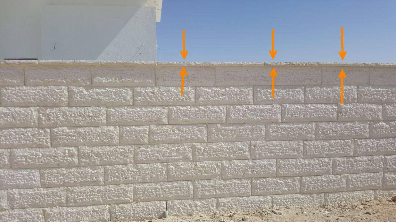 מתקדם חיפוי חומת חזית, קופינג וספי חלון | פורטל בונים ומשפצים בדרום GG-67