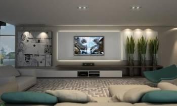 קירות זכוכית למסכי טלוויזיה